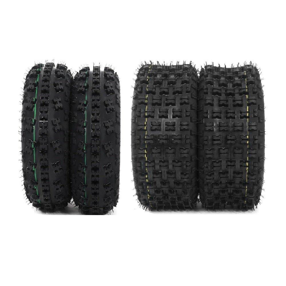 Set of 4 P336 ATV Tire 21x7-10 Front & 20x10-9 Rear, 4Ply