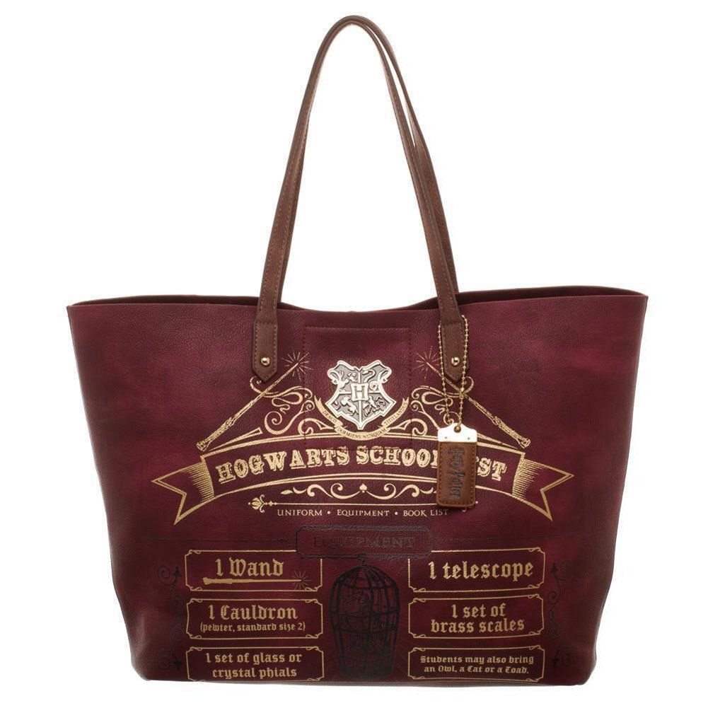 Harry Potter Hogwarts School List Tote Bioworld LT5SDTHPT