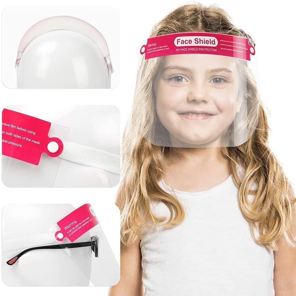 Kids Face shield With Frame 10pack