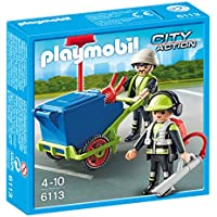 PLAYMOBIL® Sanitation Team
