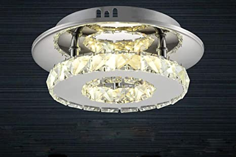 LED Lámpara de Techo de Cristal,Moderna LED Luz de Techo de Vidrio ...