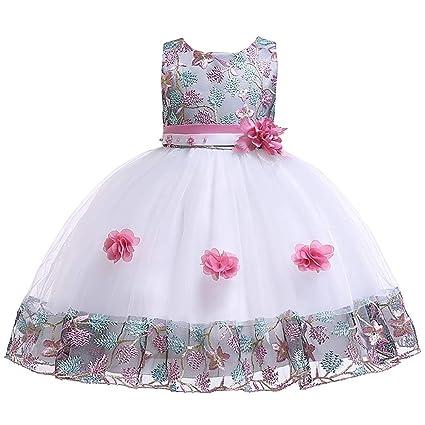 Vestido De Novia De Niña Boda De época Pageant Vestido De
