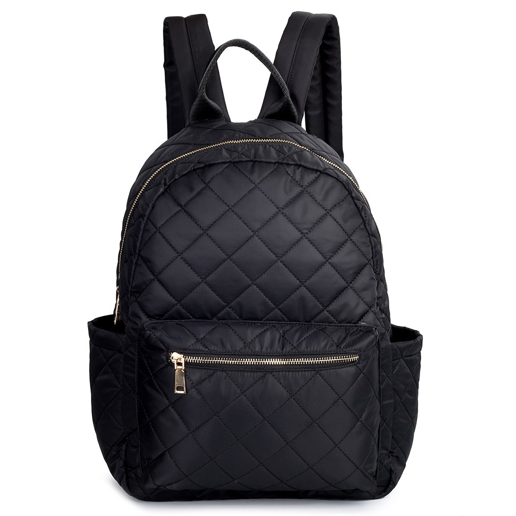 TOYOOSKY Black Backpack School Backpack Lightweight Women Travel Backpack Hold 14'' Laptop for Girls by TOYOOSKY