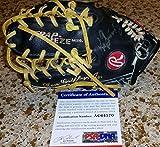 Ken Griffey Jr signed auto UDA Rawlings Heart Hide HOH mini glove HOF - PSA/DNA Certified - Autographed MLB Gloves