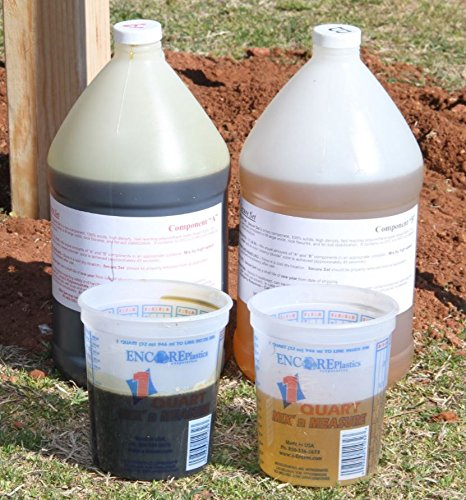 Secure Set - 10 Post Kit - Commercial Grade -2 Gallons. Fast, Secure & Safe Concrete Alternative for Easy Fence Post Installation. by Secure Set (Image #7)