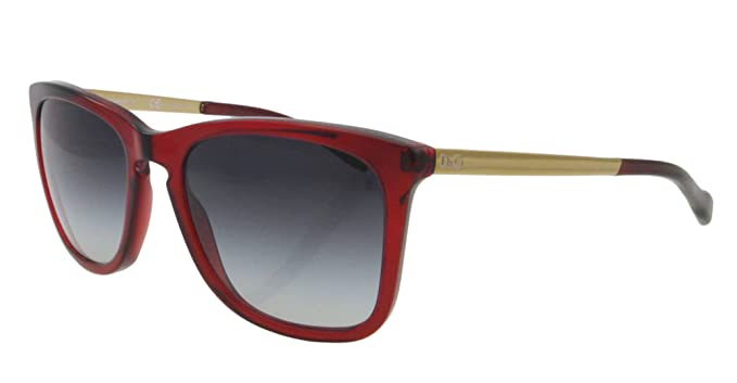 Amazon.com: DOLCE&GABBANA D&G - Gafas de sol (DD 3081, rojo ...