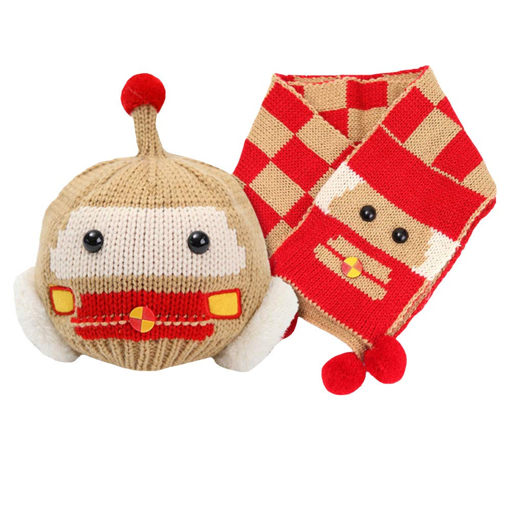 M&A HAT ベビーボーイズ 6-48 Months Brown Robot B07H6FT6MZ