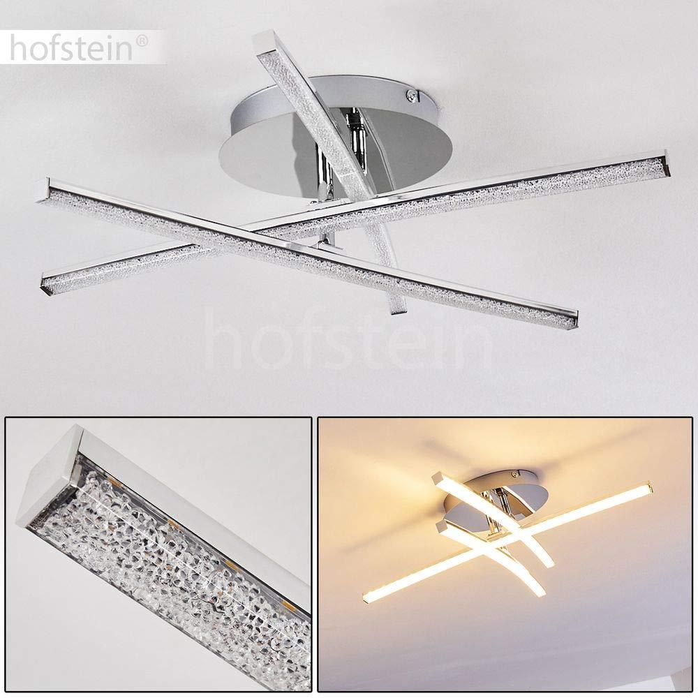 Les 3 barres pivotantes vous permettent dajuster ce luminaire /à votre d/éco Plafonnier LED Powassan /à lenvergure exceptionnelle