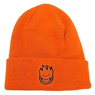 d3048a8961e SPITFIRE WHEELS Bighead Standard Cuff Beanie Orange  Amazon.co.uk  Clothing