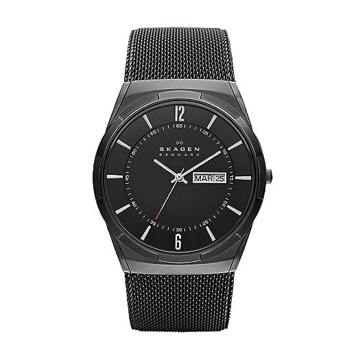 Skagen SKW6006P - Reloj (Reloj de pulsera, Masculino, Titanio, Negro, Acero