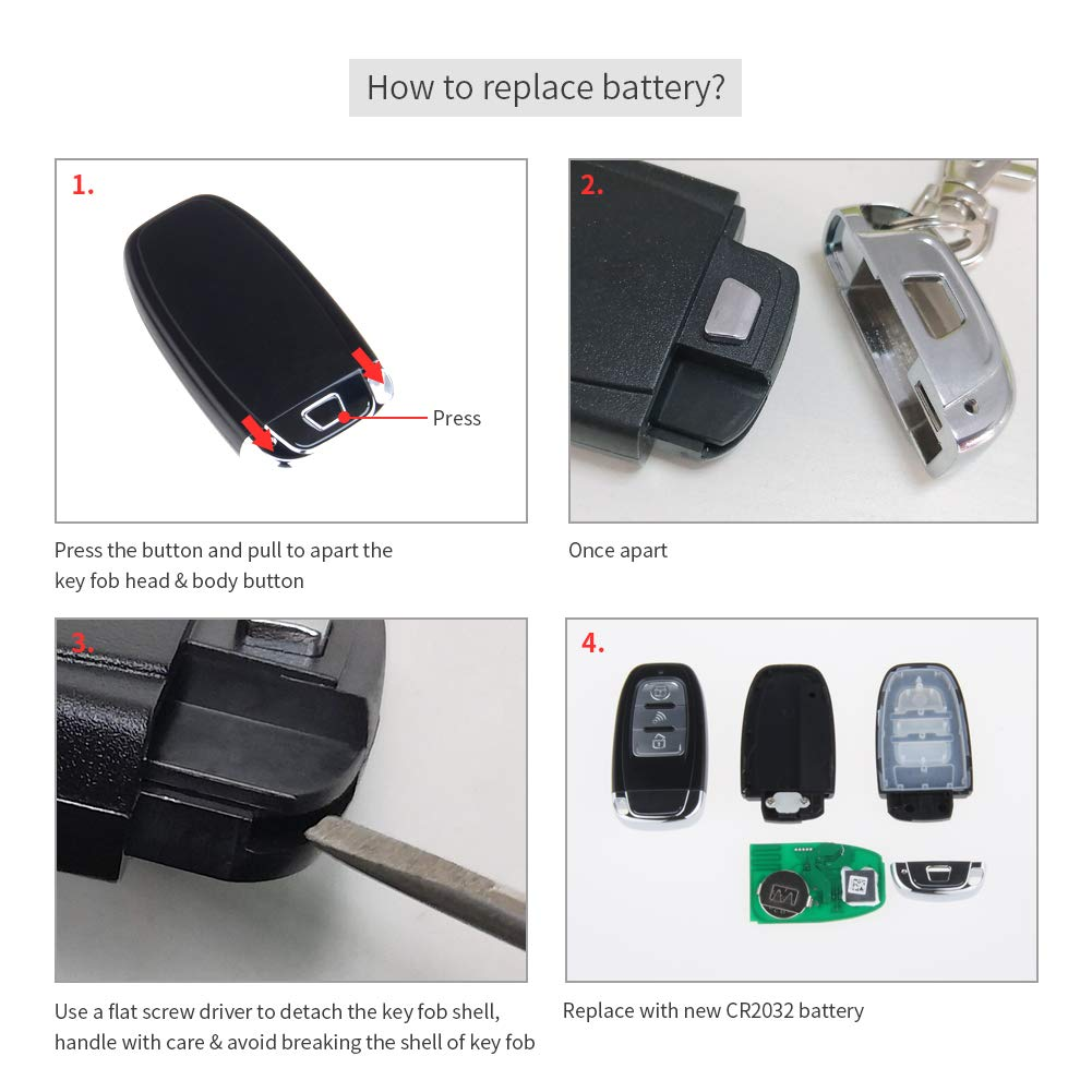 Easyguard Ec003 Smart Key Pke Passive Keyless Entry Car