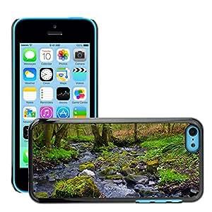 Print Motif Coque de protection Case Cover // M00156054 Primavera Bosque Hermoso caliente // Apple iPhone 5C