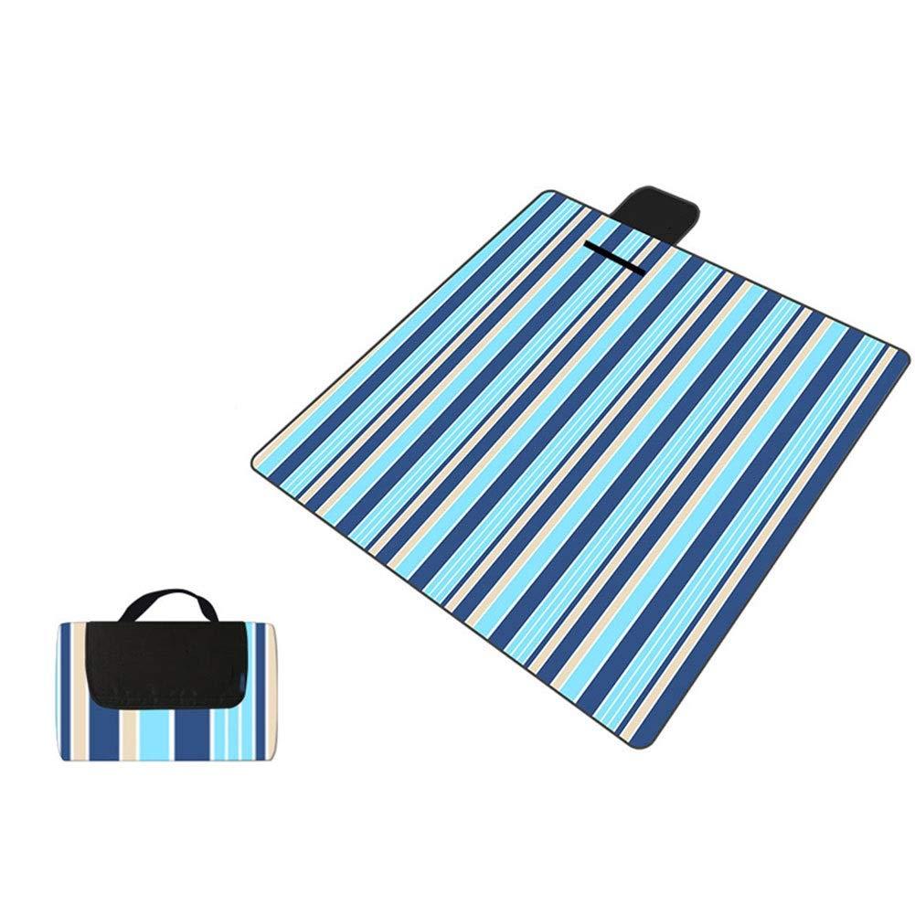 Outdoor Picnic Blanket Cartoon Large Beach Mat Waterproof Camping Sleeping Mat Pet Pad (Color : #7) by FZZ-picnic blanket