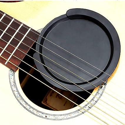 Amazon.com: Guitarra acústica funda de hueco: guitarra Mute ...