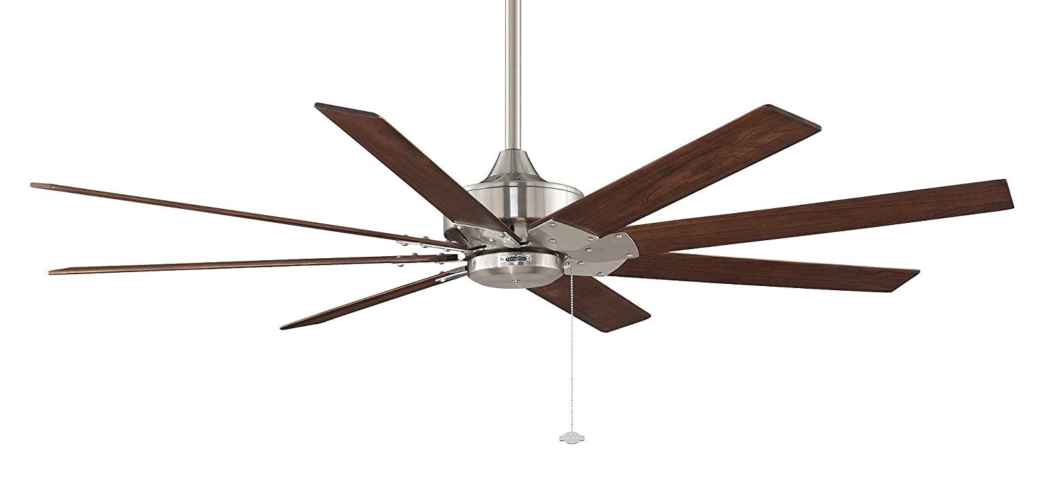watch high ceiling inch fan with metal spin lights at low medium industrial fans hunter satin youtube down menards off