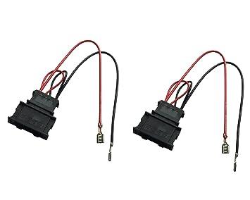 amazon com dkmus 1 x pair speaker wiring harness wire cable vw rh amazon com speaker wire harness adapter 2006 ford trucks speaker wire harness adapter 2006 ford trucks