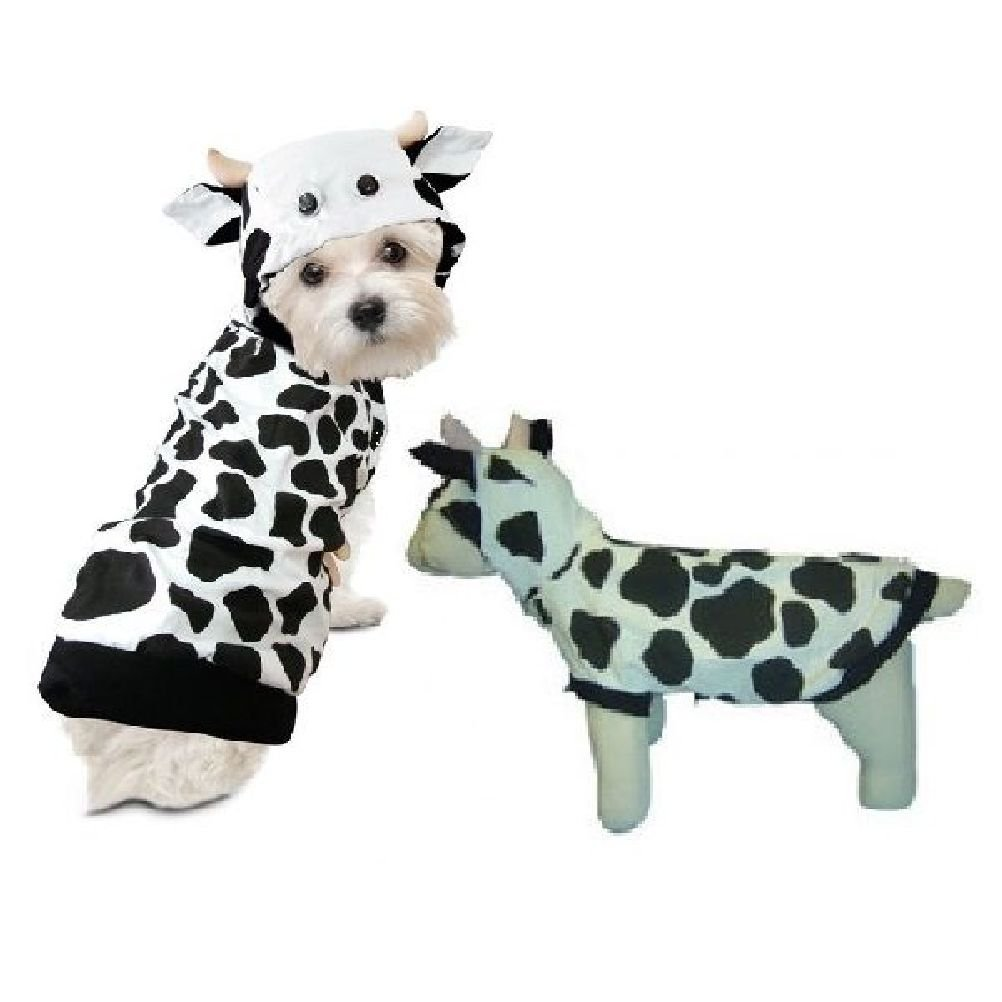Dog Costume-Cow Costumes Outfits For Dogs As Farm Animal