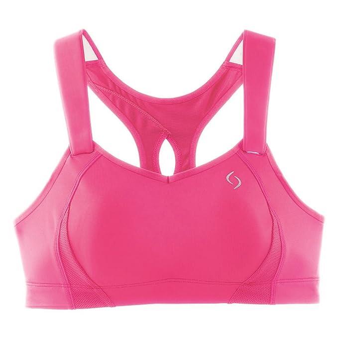 Moving Comfort para mujer Juno sujetador deportivo Top de danza sin mangas de costura para chalecos de: Amazon.es: Ropa y accesorios