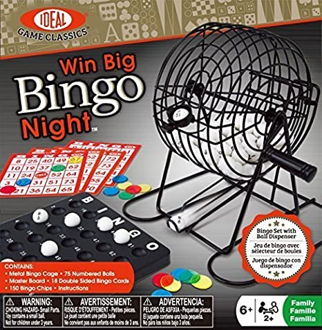 Ideal Win Big Bingo Night