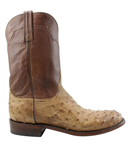 844f8a3a666 Amazon.com   Lucchese New Mens M9633.C2 Tan Burnished Cowboy ...