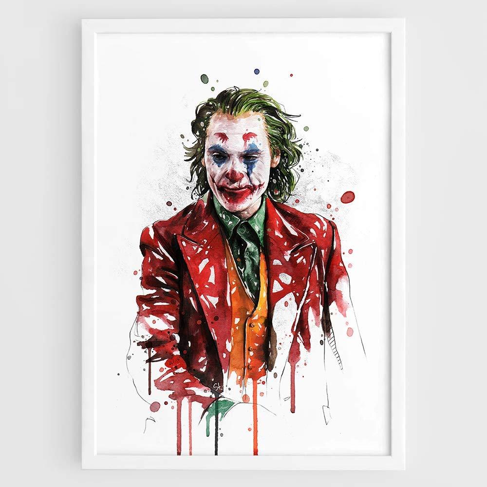 20A413 Joker Batman Joaquin Phoenix 2019 DC Movie Art Poster Silk Deco