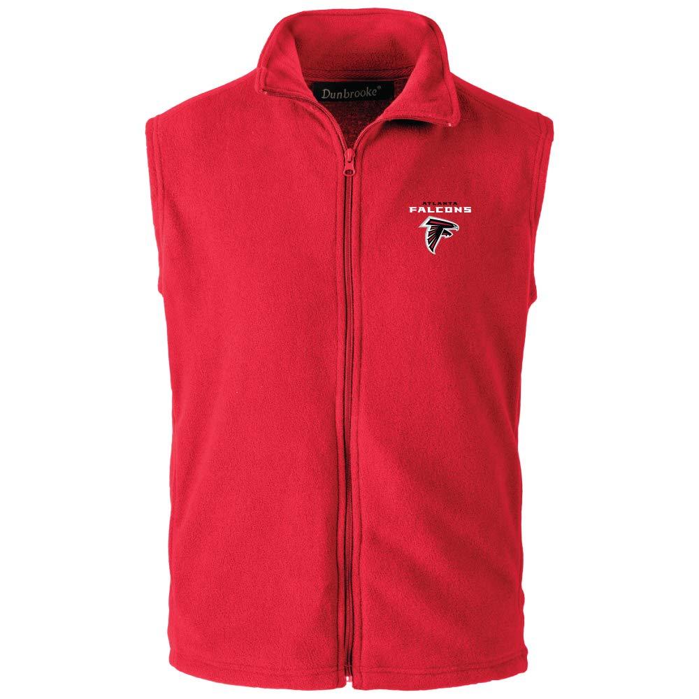 XX-Large NFL Atlanta Falcons Mens Houston Fleece Vest Red