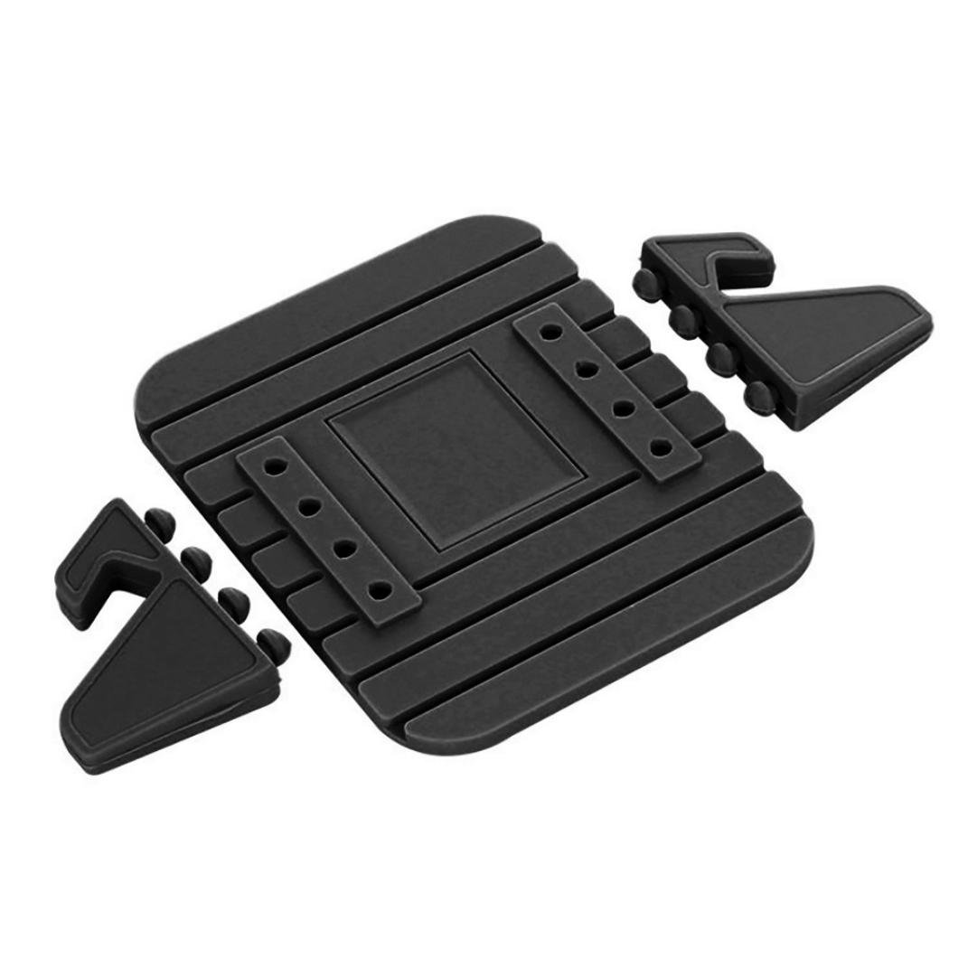 Car Silicone Dash Pad Mat, Universal Dashboard & Desktop Holder for Phones,Tablets, Mp3&Mp4 Player,GPS Navigator (Black) by Kintaz (Image #5)