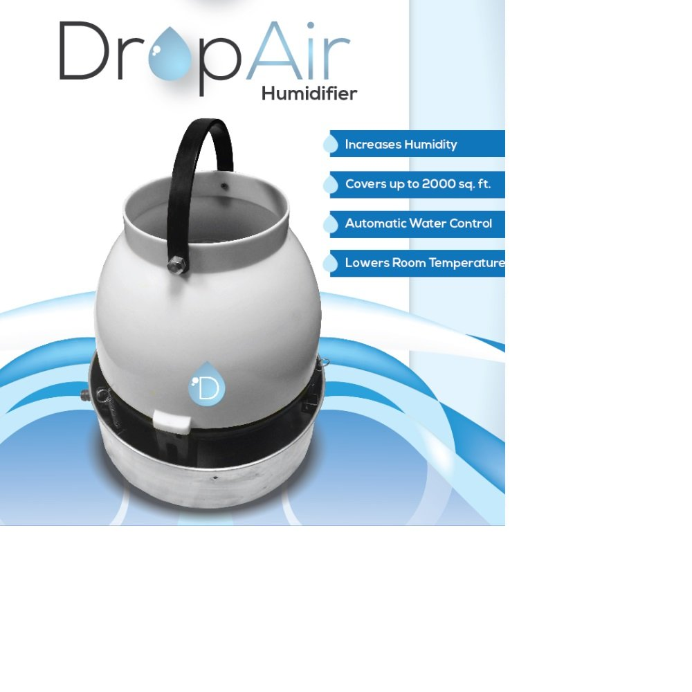 DropAir Humidifier High Quality Multdirectional Quiet Greenhouses Indoor Gardens by DropAir