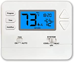 Thermostat Programmable (Multi-Stage 2 Heat / 2 Cool)