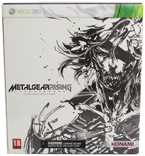 Metal Gear Rising Revengeance Limited Edition (UK Release) [Xbox 360] (Metal Gear Rising Revengeance 360)