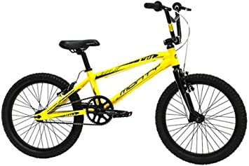 Monty BMX 139 - Bicicleta Unisex, Color Amarillo, 10