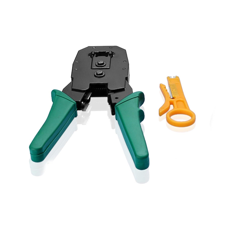 Sienoc Juego de crimpadora RJ45 RJ11 RJ12 Alicate de red LAN: Amazon.es: Bricolaje y herramientas
