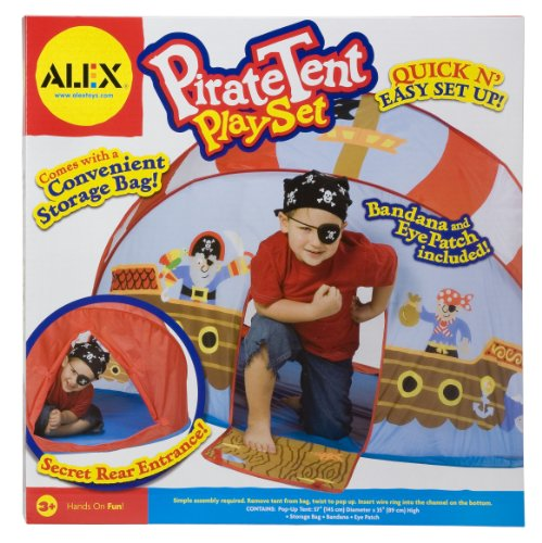 ALEX® Toys – Pirate Pop-Up Tent Play Set 788, Baby & Kids Zone