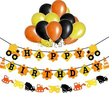 Amazon.com: 1st pancarta de feliz cumpleaños Cumpleaños del ...