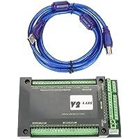 Controlador CNC, 3/4 Axis 200KHz NVUM USB Mach3
