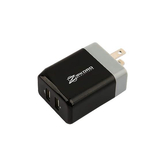 Amazon.com: zipkord Cargador de viaje para dispositivos USB ...