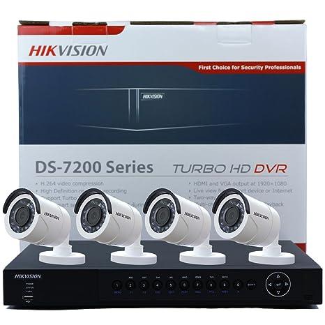 Hikvision ds-7204hqhi-sh Turbo de 4 canales HD DVR Grabadora de vídeo en