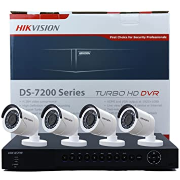 Hikvision ds-7216hqhi-sh 16 canales Turbo HD DVR Grabadora de vídeo en red TVI Negro: Amazon.es: Electrónica