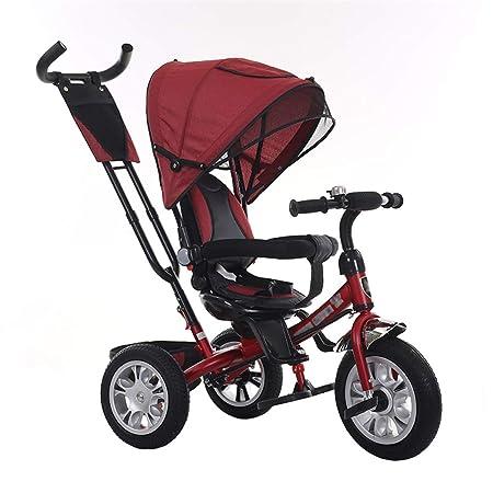 Cochecito de bebé 3 en 1 Triciclo Bicicleta Marco de Acero al ...