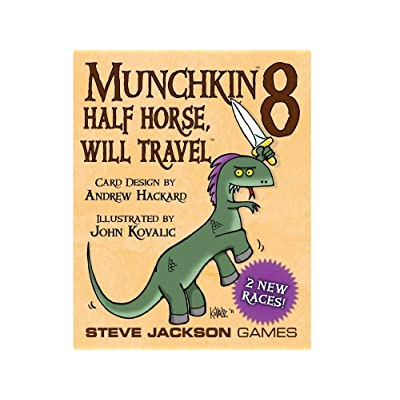 Munchkin 8 - Half Horse, Will Travel Card Game: Toys & Games