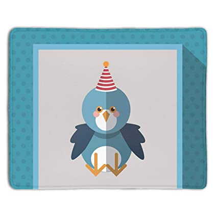 Amazon com : Gaming Mouse Pad Festive Animal with Party Hat