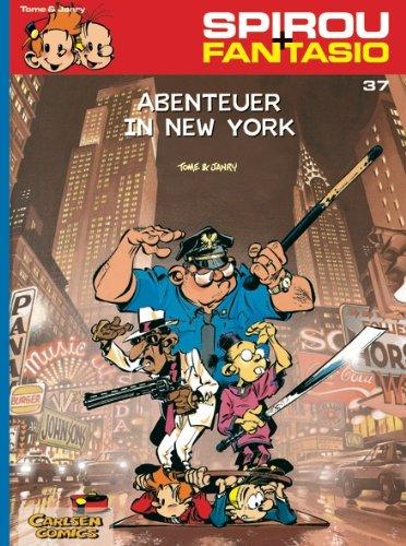 Spirou & Fantasio 37: Abenteuer in New York: (Neuedition) Taschenbuch – 22. November 2004 Janry Tome Carlsen 3551772371