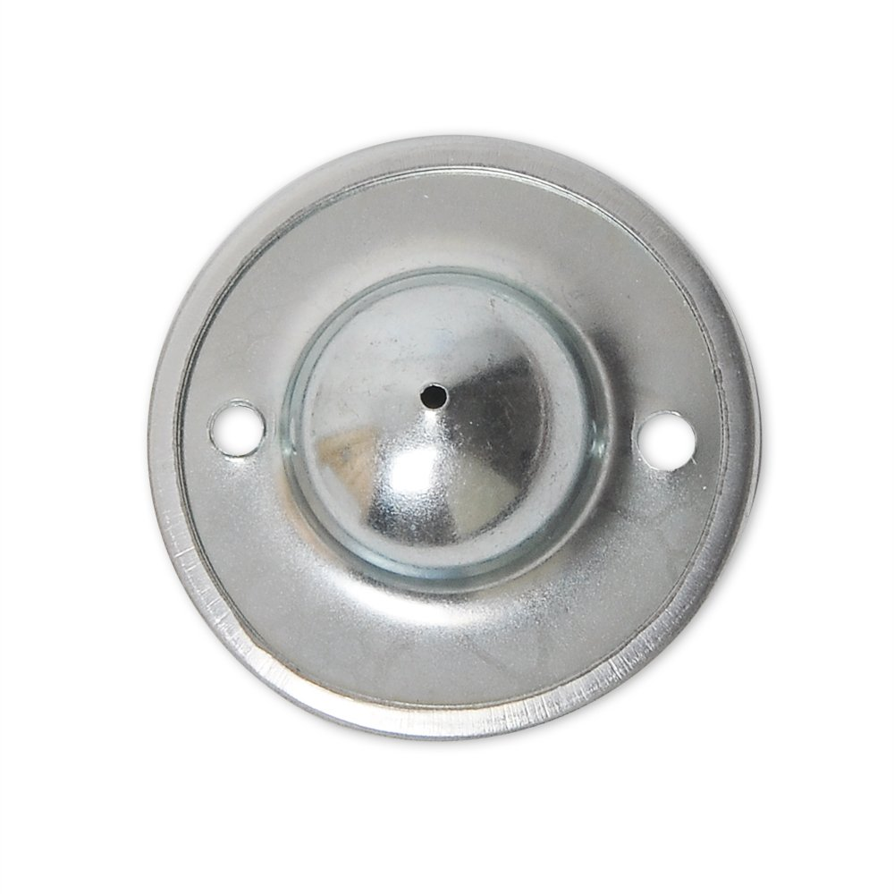 Boule unit/é de transfert Rouleau /à roulettes en m/étal /à bride mont/ée ronde meubles de remplacement Lot de 6 1 2,5 cm