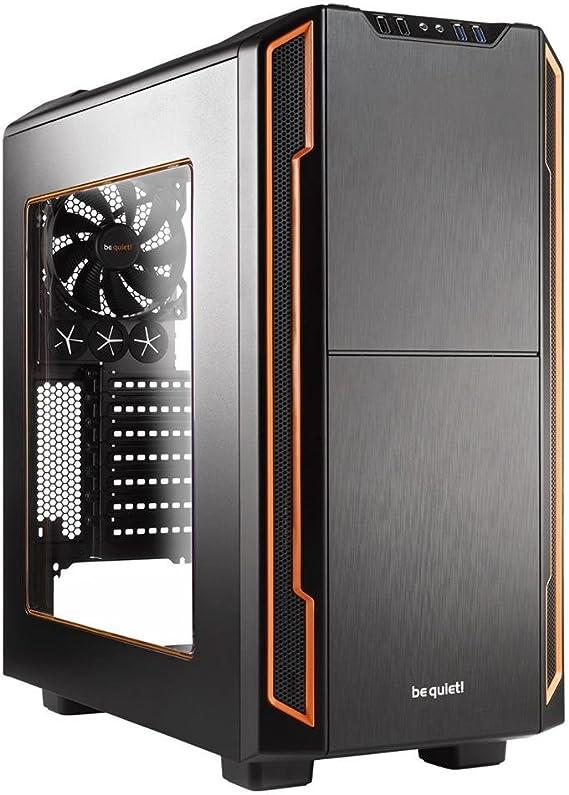 Be Quiet Atx Pc Gehäuse Silent Base 600 Orange Window Computer Zubehör