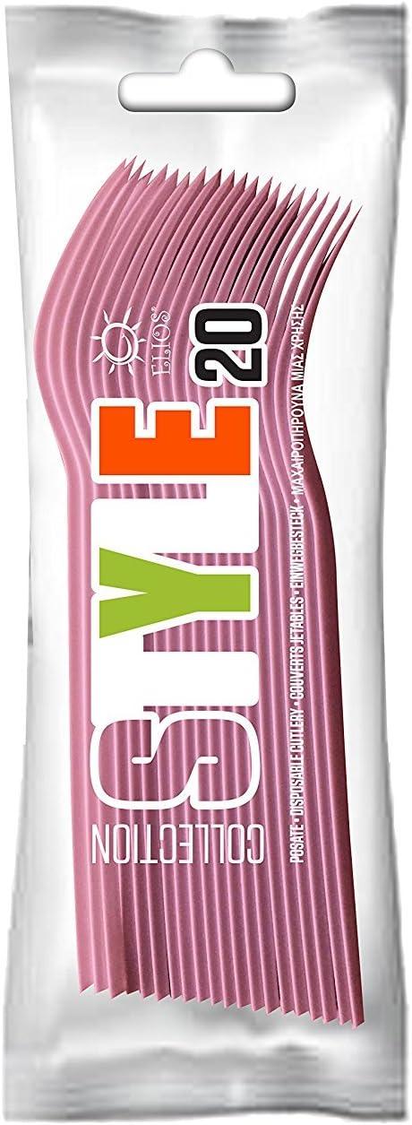 100 Rosso T/&M Group Srl Kit Party Festa Compleanno Bambino Bambina stoviglie plastica monouso Posate Bicchieri tovaglioli Piatti
