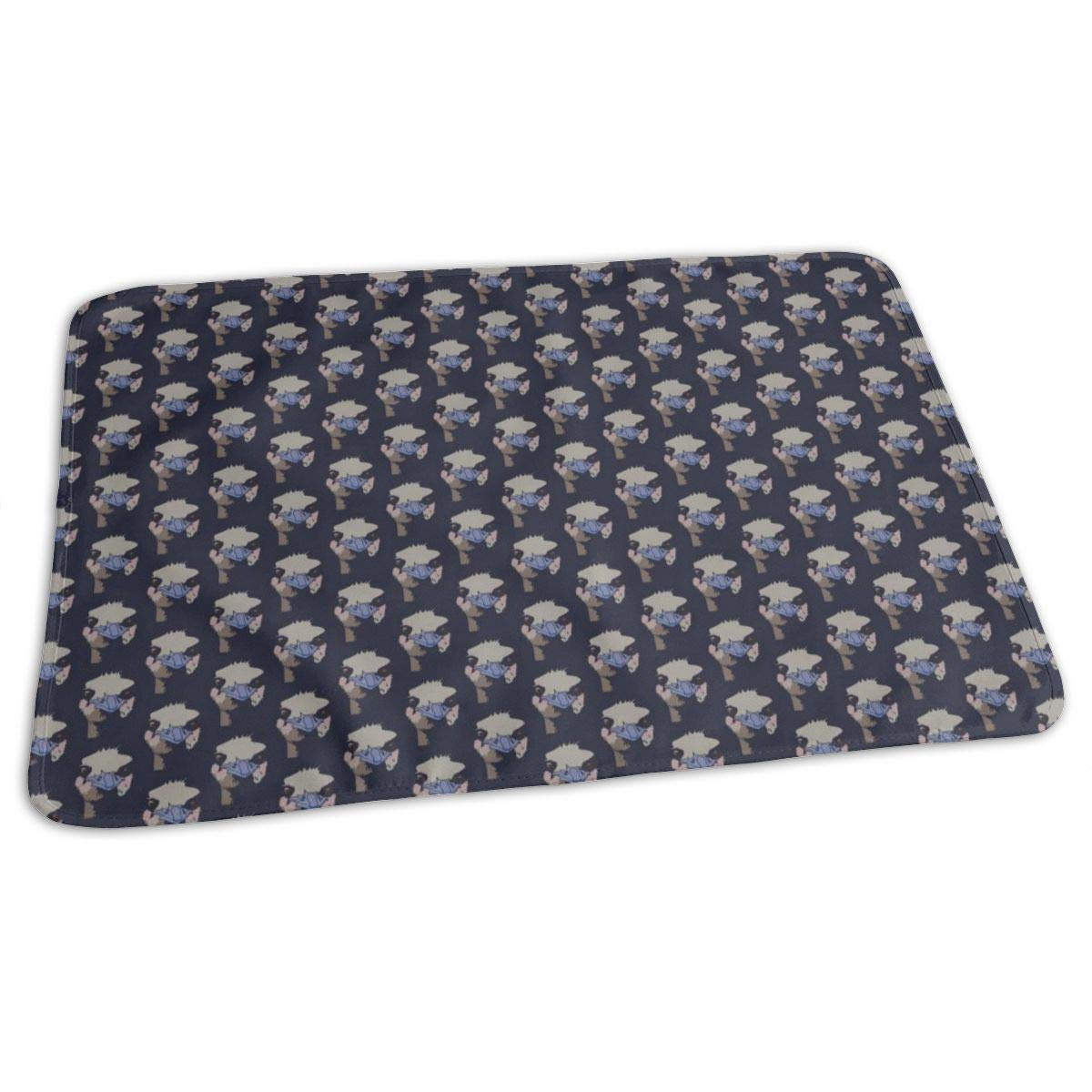 Ostrich Pattern Baby Changing Pad Foldable Newborn Infants Diaper Change Mat for Home Travel Outdoors by NKZSUX