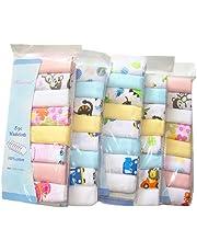 CuteOn Algodón suave del bebé Estropajos las toallas del bebé, paquete de 8, 11.8