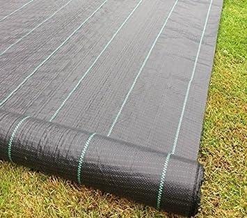 Jardin Mile® 2m x 50m Tissu anti mauvaises herbes Ultra résistant de ...