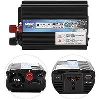 FTVOGUE Solar Power Inverter 12v a 220v / 110V 500W Car Power Inverter con Panel Solar Inversores de Corriente(12v to…