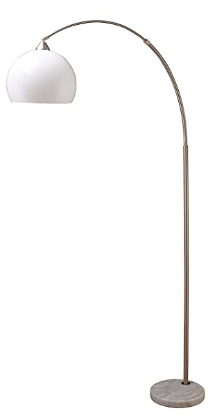 black five arm arc floor lamp greens stars modern adjustable marble base uk rain drop